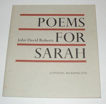 Poems for Sarah